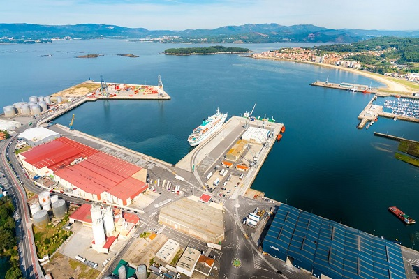 Puerto de Vilagarcía sobrepasa el millón de toneladas hasta septiembre