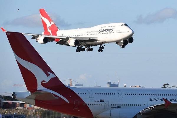 Qantas Airways récord vuelo