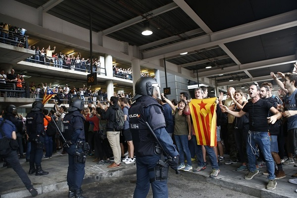 Vuelos cancelados El Prat protestas