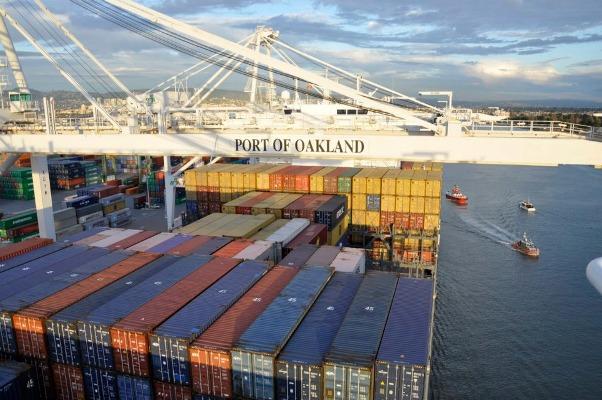 puerto de oakland contenedores
