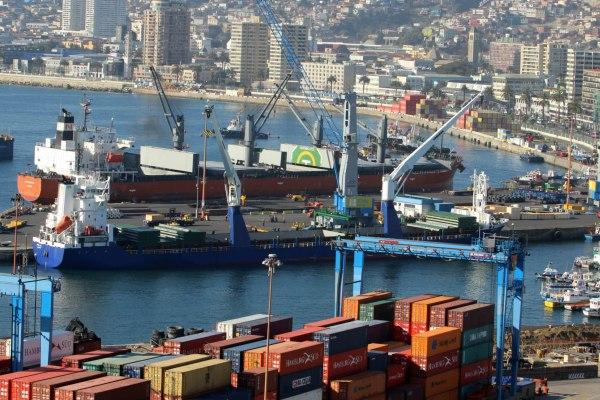 puertos de la region de valparaiso