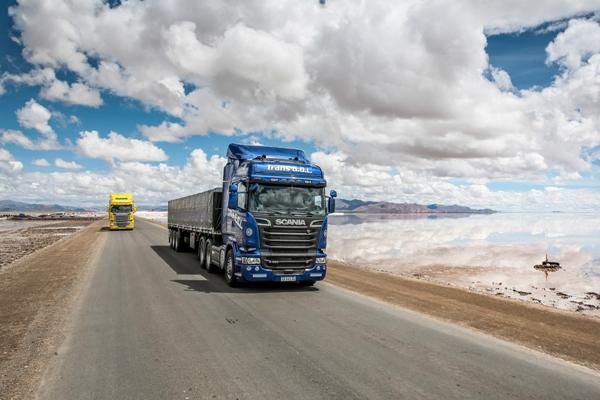 transporte de carga por carretera andes