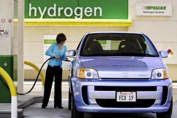 vehículos de hidrógeno