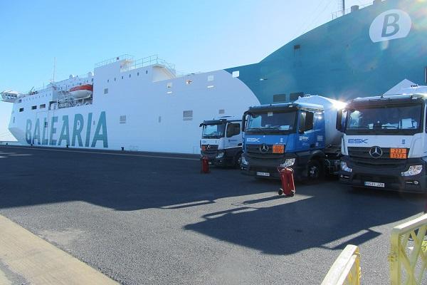 Baleària realiza primera operación de bunkering de GNL en Puerto de Huelva