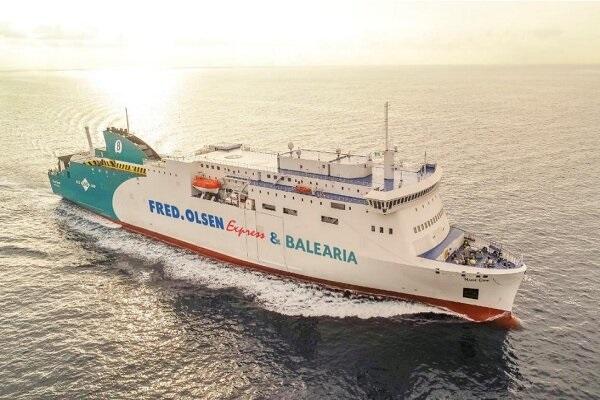 Baleària y Fred Olsen Express añaden buque Marie Curie en ruta Huelva-Canarias