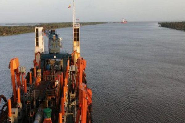Dragado puerto barranquilla