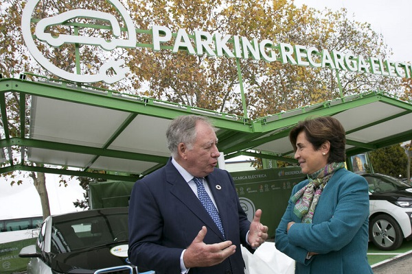 Iberdrola Ifema parking sostenible