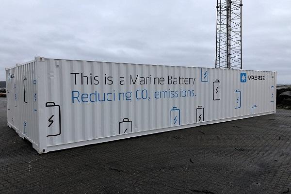 Maersk testará nuevo sistema de baterías contenerizado en diciembre