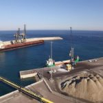 Puerto de Carboneras avanza en la construcción de nuevo acceso directo