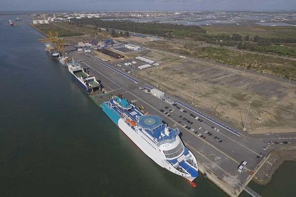 Puerto de Huelva toma medidas para optimizar actividad ro-ro del Muelle Sur