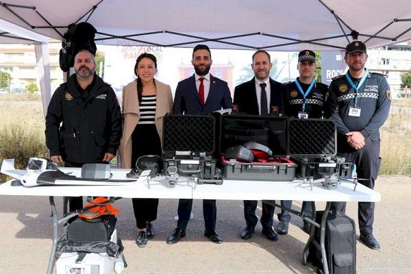 Puerto de Sagunto acoge pruebas piloto de drones relacionadas con proyecto europeo Sauron