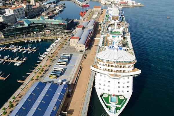 Puerto de Vigo oferta la ampliación del muelle de Comercio