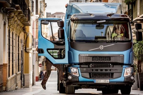 Volvo camiones eléctricos Europa