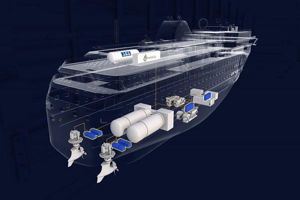 Wessels Marine y MAN Energy Solutions testa nuevo GNL sintético