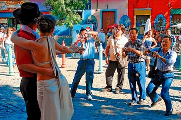 turistas chinos argentina