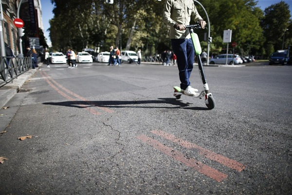 2019 accidentes patinetes eléctricos