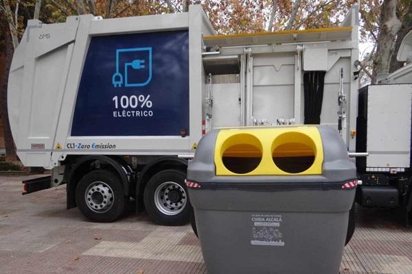 Alcalá camión de basura eléctrico