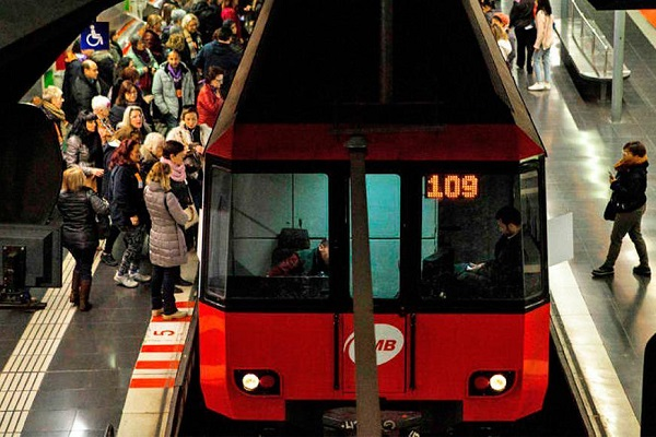 Barcelona sistema de transporte público