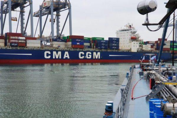 CMA CGM biocombustible