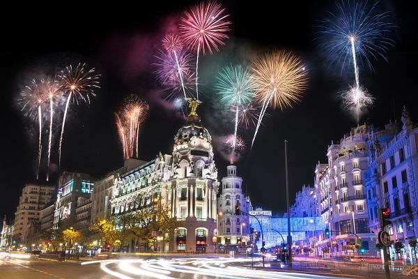 Destinos españoles Fin de año