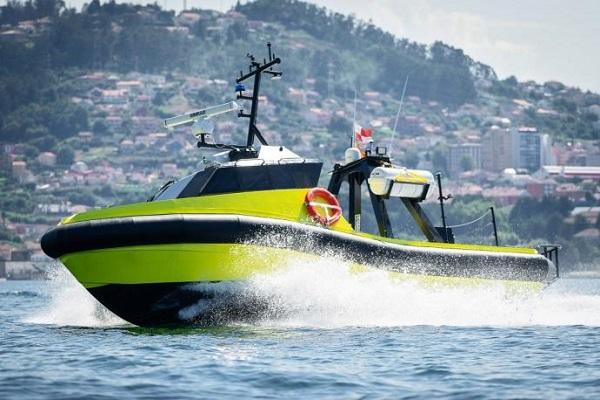 España ya cuenta con su primer barco autónomo USV Vendaval