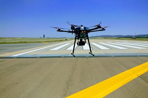 IAG Cargo realiza ensayos con drones autónomos en las instalaciones de Madrid