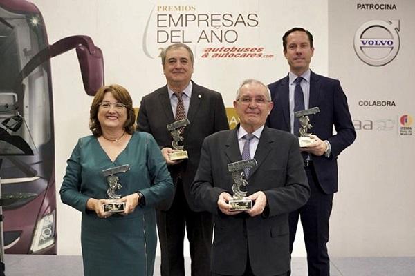 Intercitybus Lanzarote mejor empresa del año de transporte interurbano