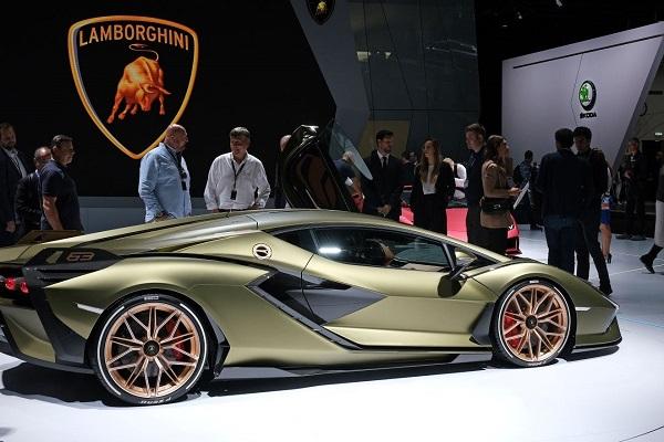Lamborghini coches eléctricos