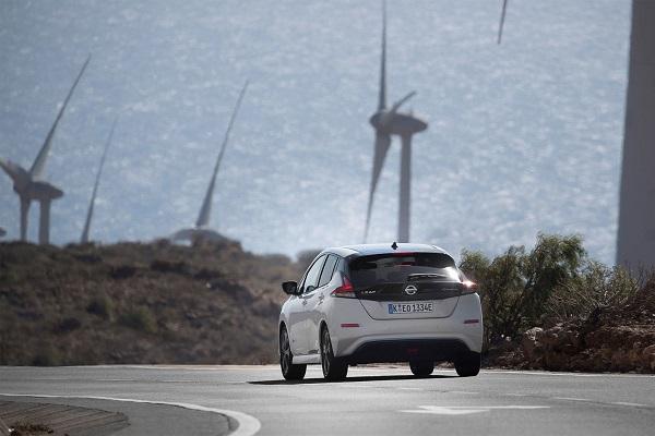 Nissan venta vehículos eléctricos 2019
