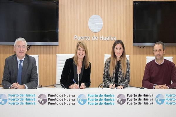 Puerto de Huelva otorga la construcción de una gran pantalla vegetal
