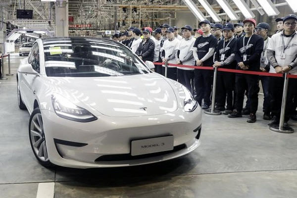 Tesla made in China