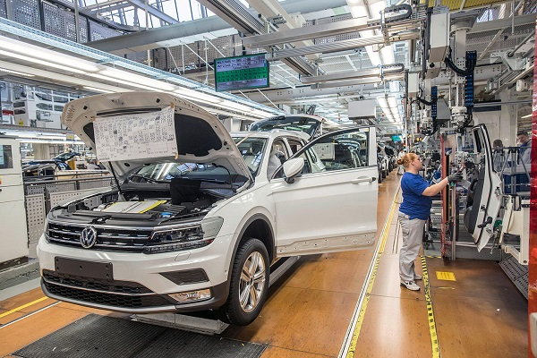 Volkswagen fabricación España