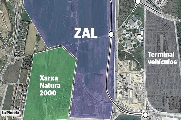 ZAL del Puerto de Tarragona se ha presentado oficialmente en diciembre