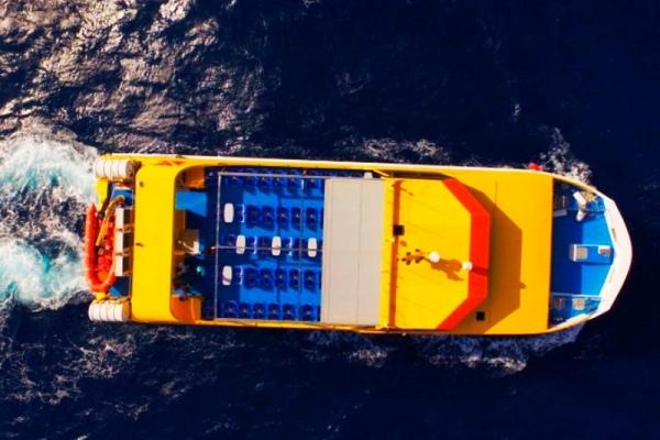 catamaran para el amazonas