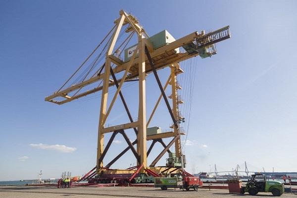 Autoridad Portuaria de Cádiz atenderá un proyecto de ensamblaje de grúas