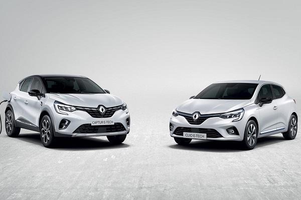 Clio Captur híbridos Renault