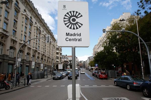 España zona restringida