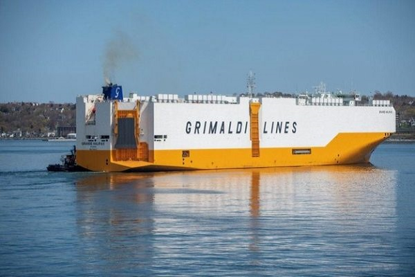 Grande Houston, el nuevo car-carrier de Grimaldi