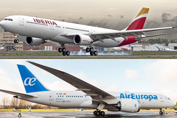 Iberia Air Europa ofertas 2020