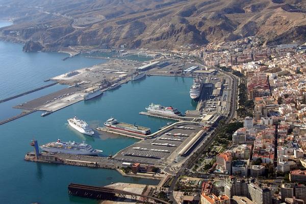 Puerto de Almería gastaocho millones de euros en obras durante 2019