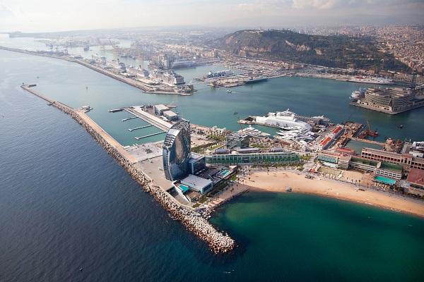 Puerto de Barcelona reduce el impacrto medioambiental en sus instalaciones