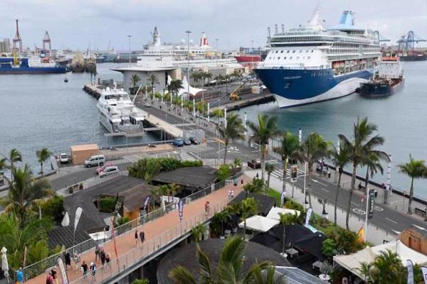 Puerto de Las Palmas empieza el año con una gran actividad de cruceros