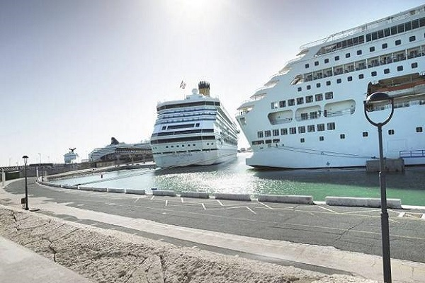 Puerto de Málaga recibirá 290 escalas de cruceros en 2020