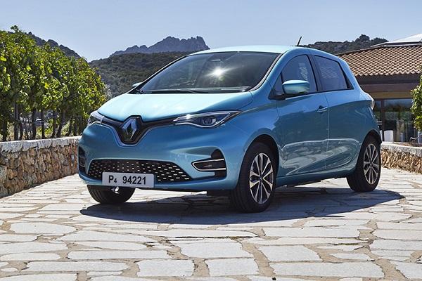 Renault Zoe eléctrico más vendido España