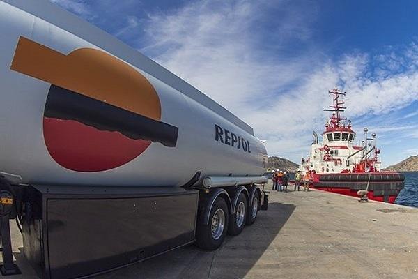 Repsol distribuye un millón de toneladas de combustible marino bajo en azufre