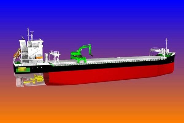 Wärtsilä evalúa la construcción de los primeros buques graneleros autodescargables