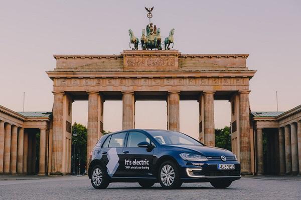 WeShare Volkswagen carsharing