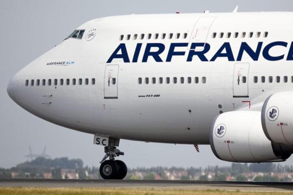 air france emisiones co2