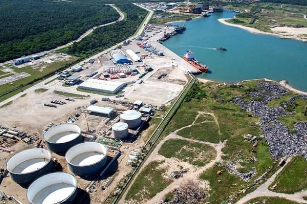 puerto petrolero de Dos Bocas