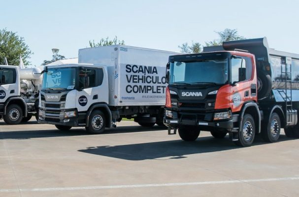 scania demo trucks
